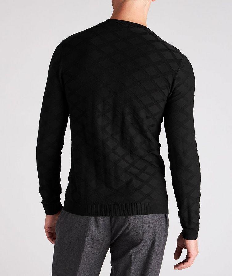 Geometric Motif Sweater image 2