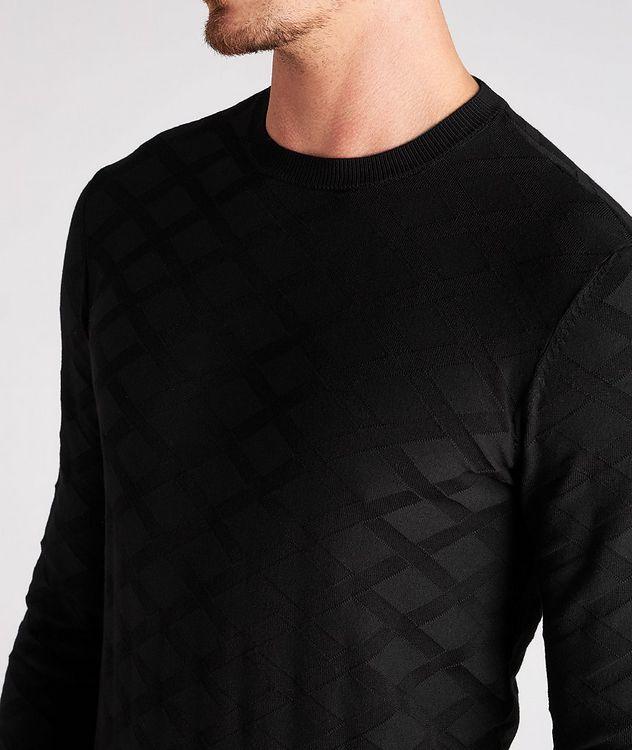 Geometric Motif Sweater picture 4