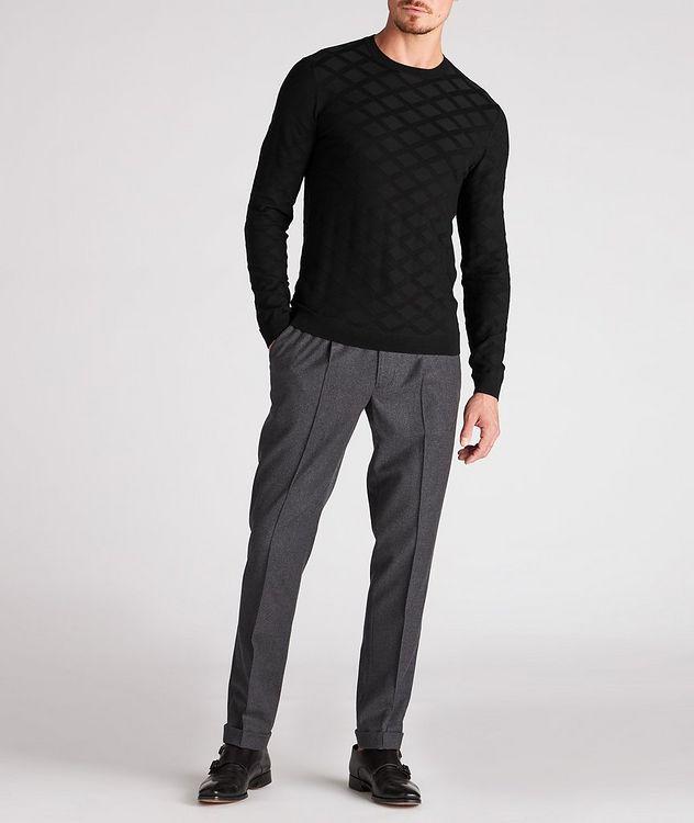 Geometric Motif Sweater picture 5