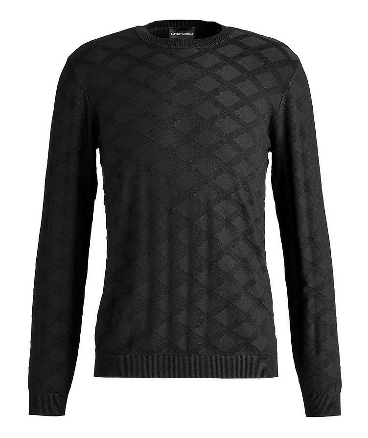 Geometric Motif Sweater image 0