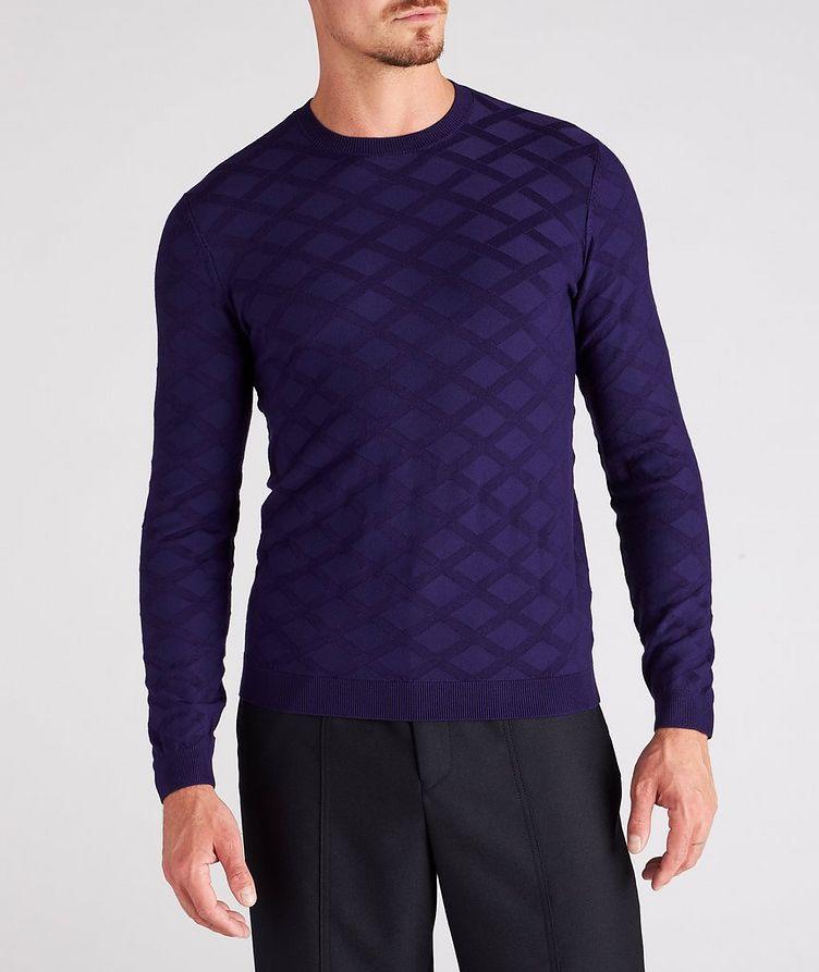 Geometric Motif Sweater image 1
