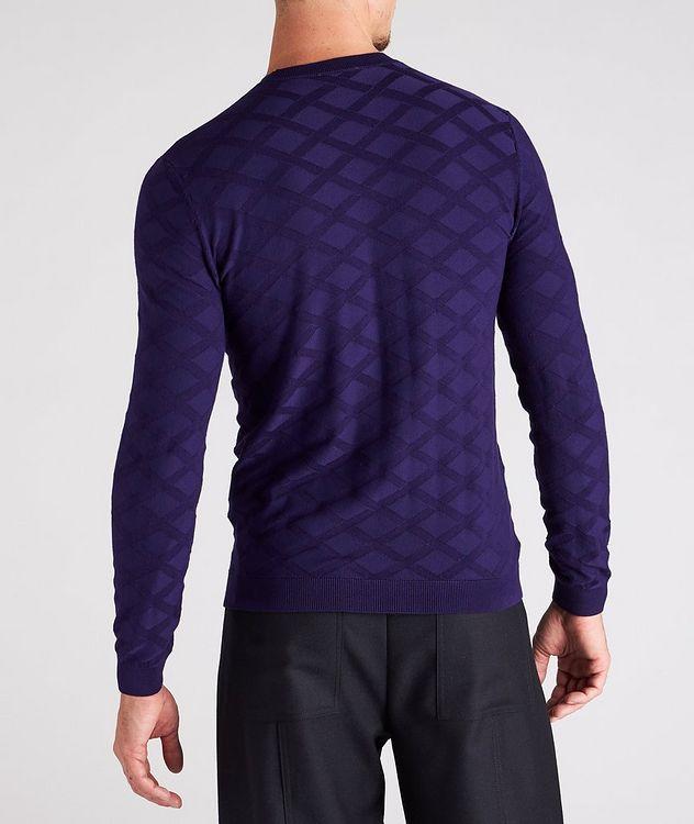 Geometric Motif Sweater picture 3