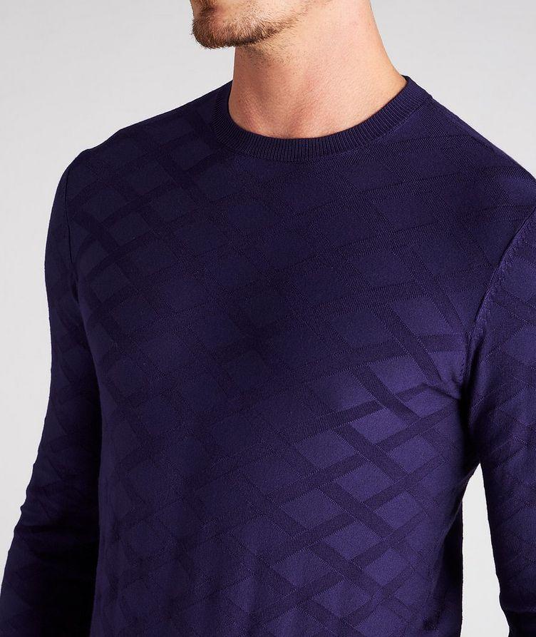 Geometric Motif Sweater image 3