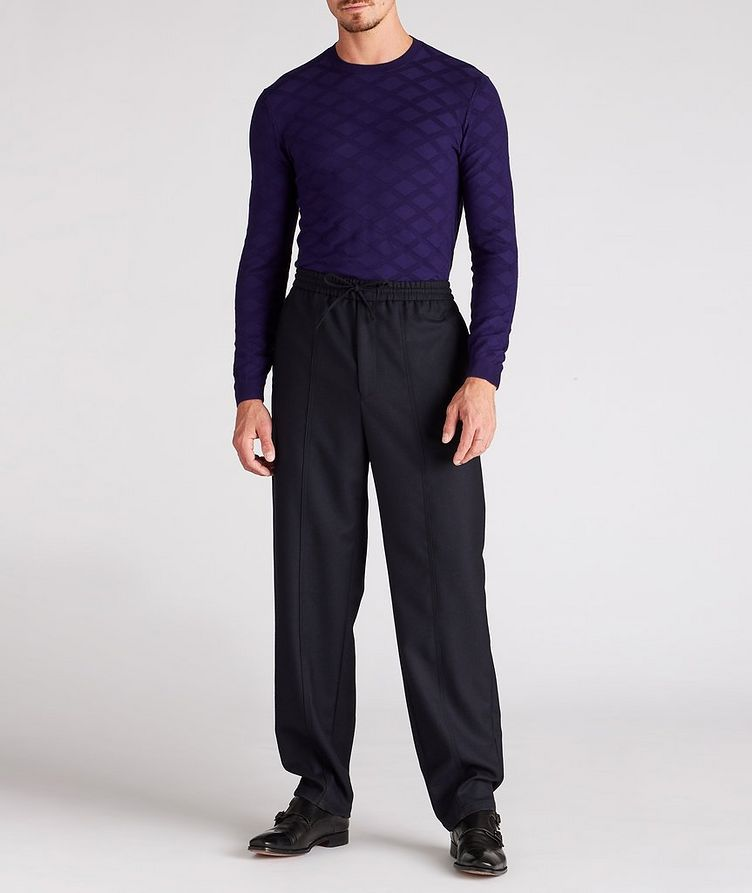 Geometric Motif Sweater image 4