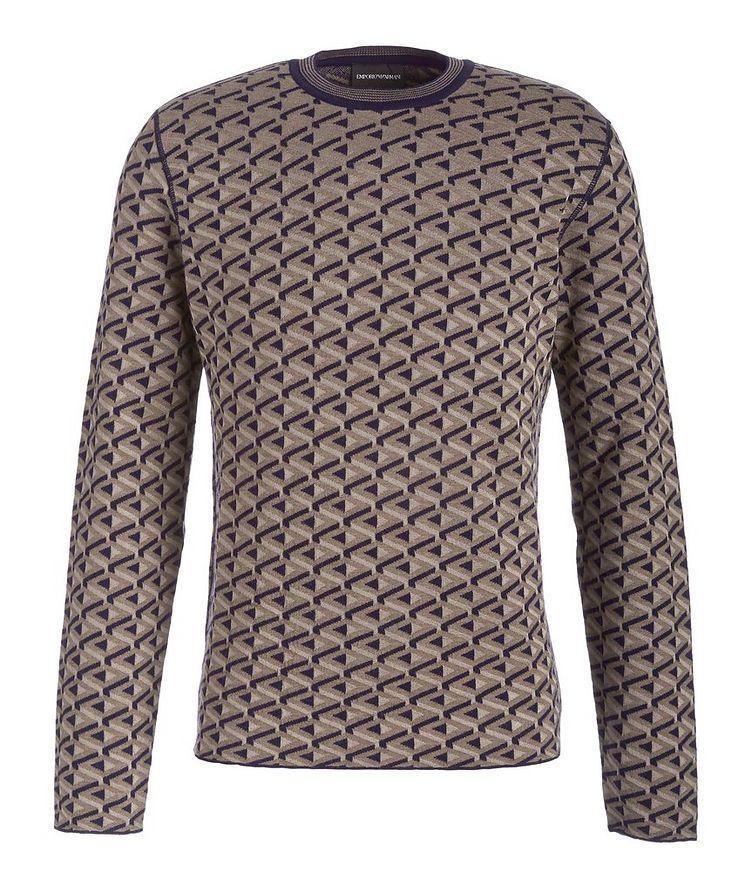 Reversible Wool-Blend Sweater image 0