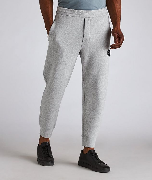 Logo Stretch-Cotton Track Pants picture 2