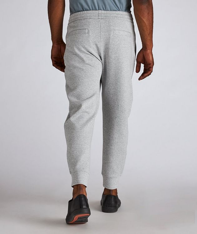 Logo Stretch-Cotton Track Pants picture 3