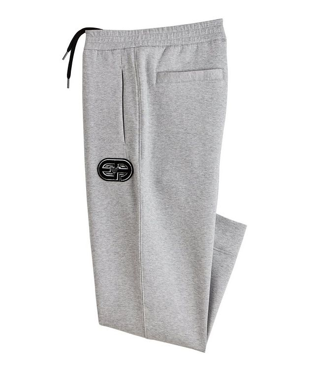 Logo Stretch-Cotton Track Pants picture 1