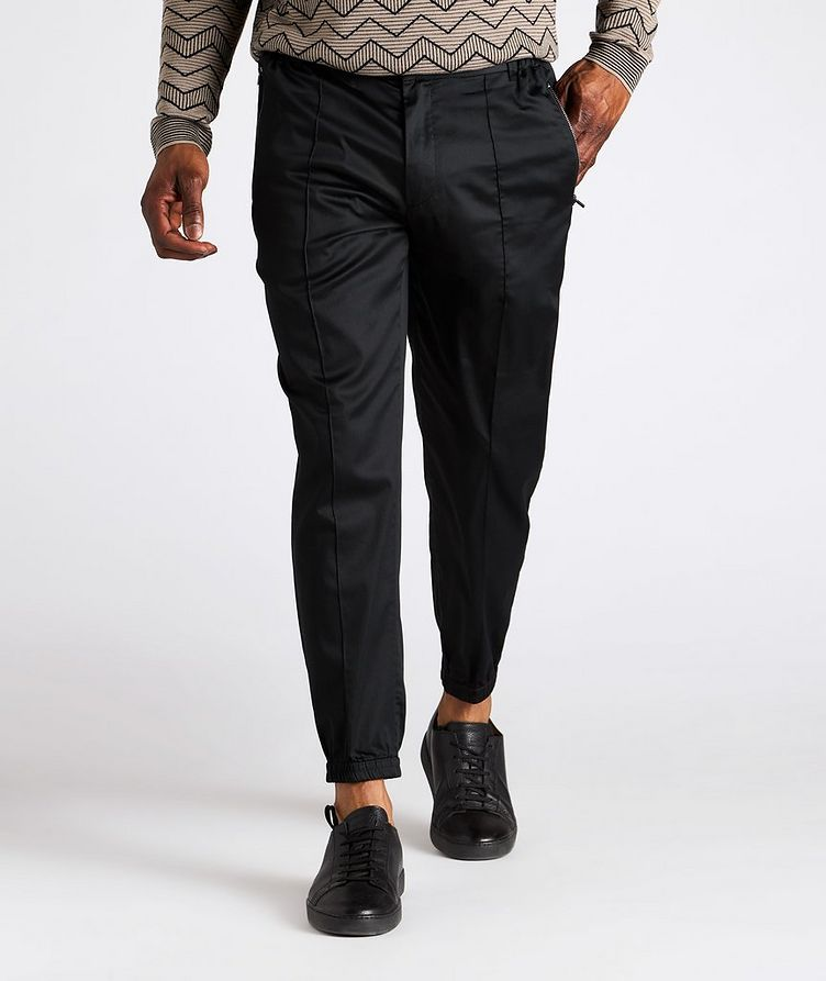 Stretch-Cotton Trousers image 1