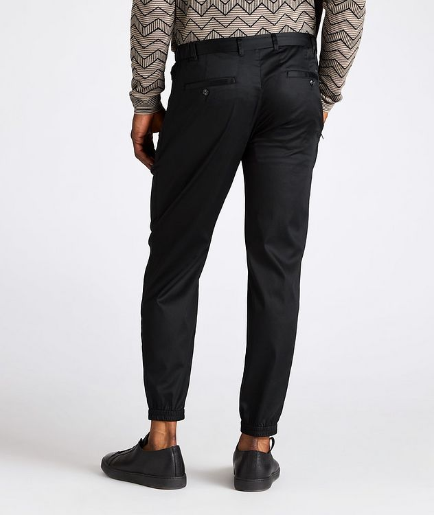 Stretch-Cotton Trousers picture 3