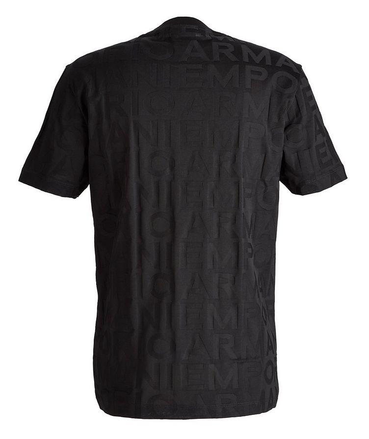 T-shirt en coton avec lettrage image 1