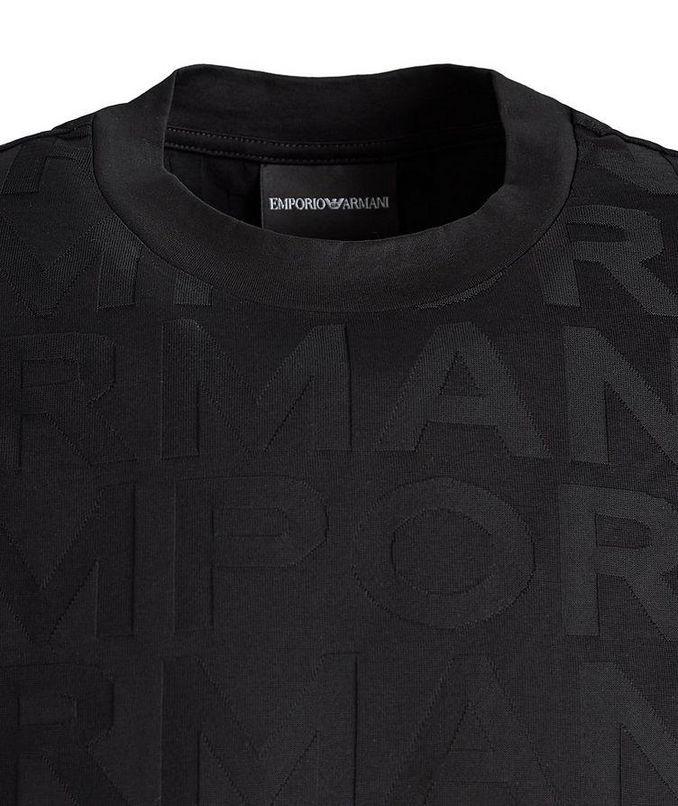 T-shirt en coton avec lettrage image 2
