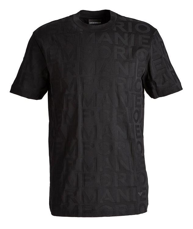 T-shirt en coton avec lettrage picture 1