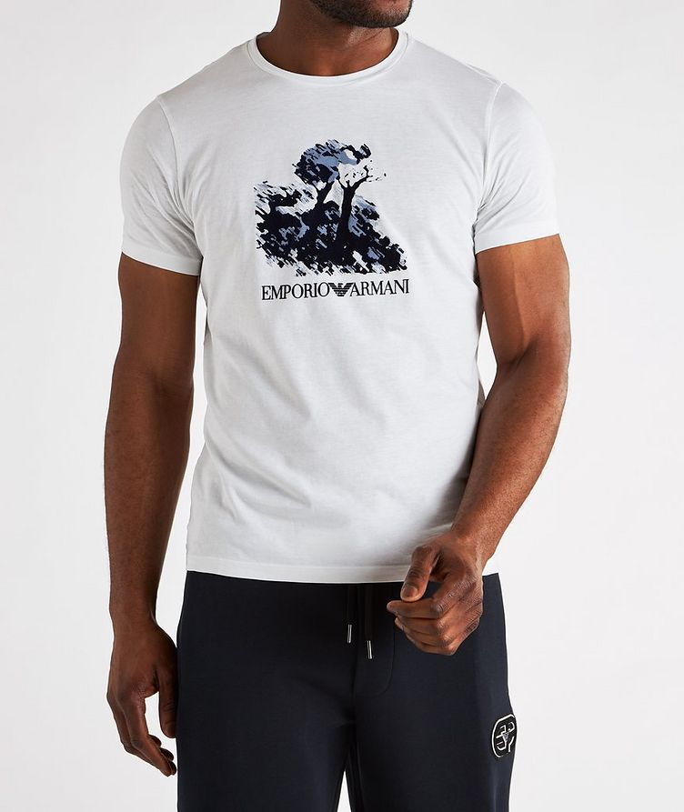 Painting Print Cotton T-Shirt image 2