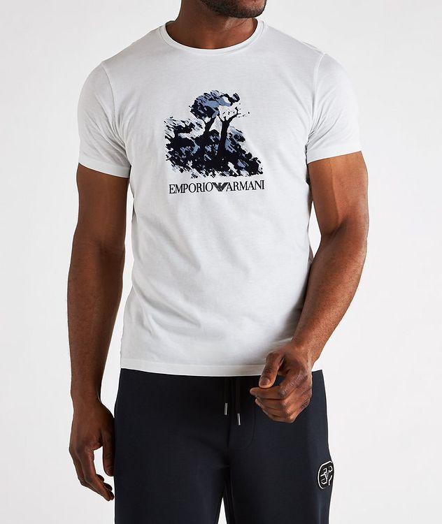 Painting Print Cotton T-Shirt picture 3
