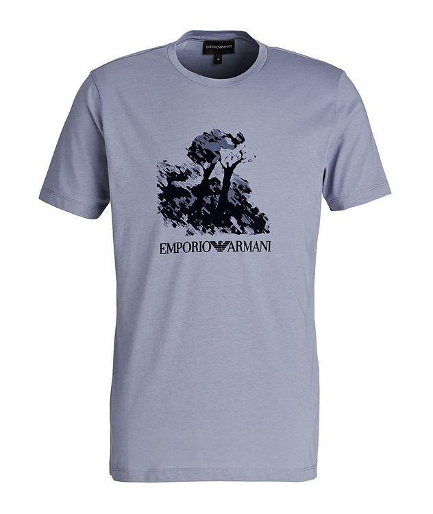 Painting Print Cotton T-Shirt picture 1