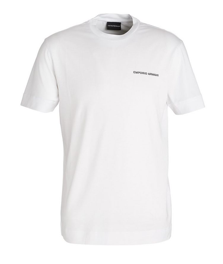 Logo Lyocell-Cotton T-Shirt image 0