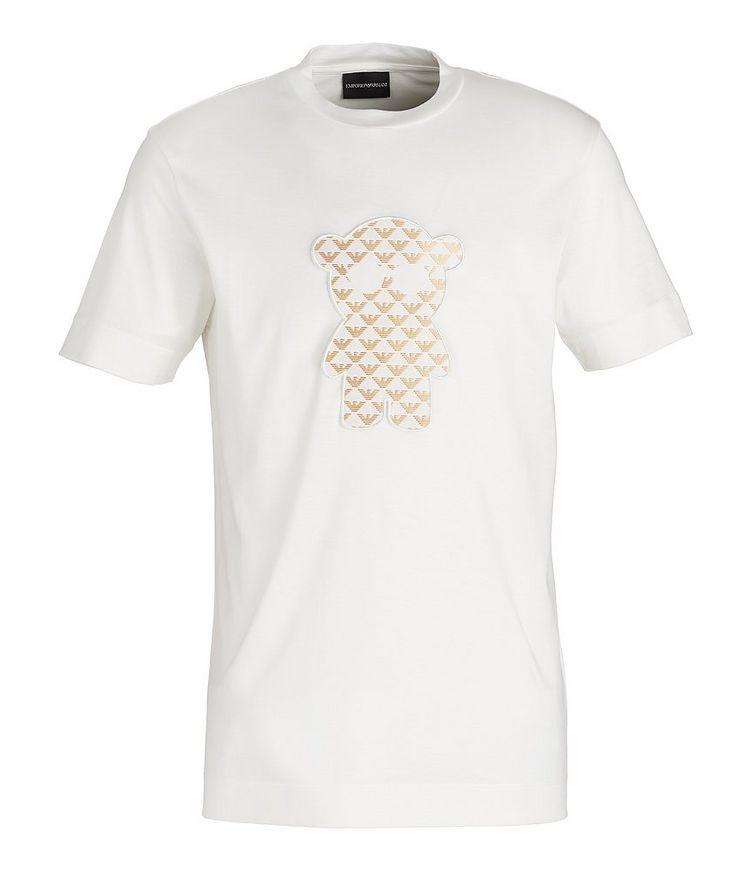 Manga Bear Patch Lyocell-Cotton T-Shirt image 0