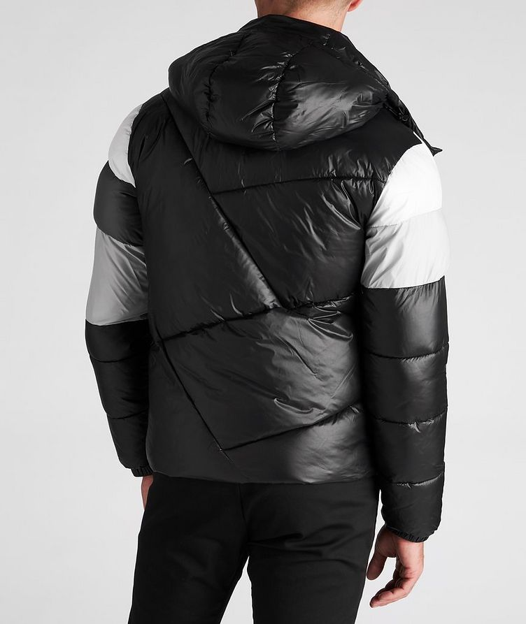 Colour-Blocked Down Puffer Jacket image 2