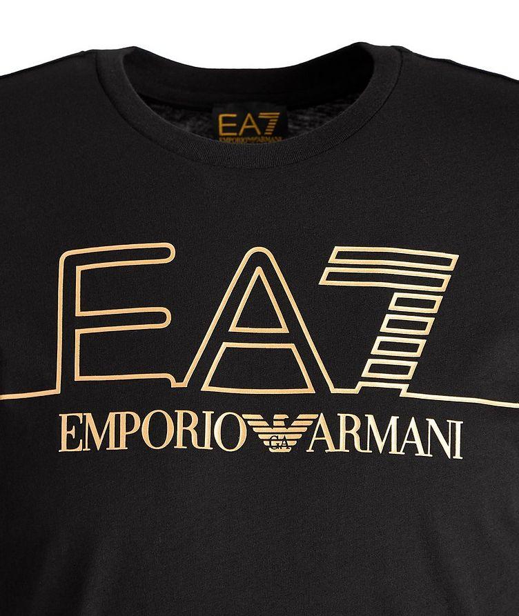 EA7 Logo Cotton T-Shirt image 1