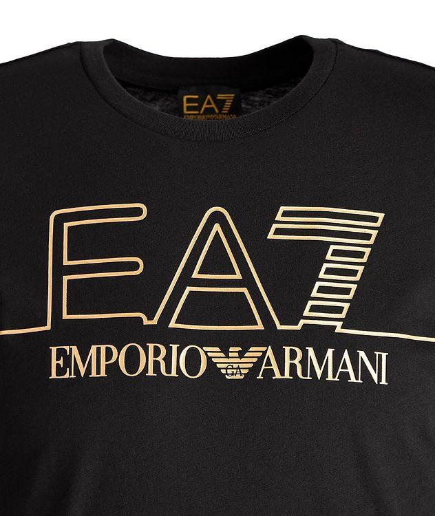 EA7 Logo Cotton T-Shirt picture 2