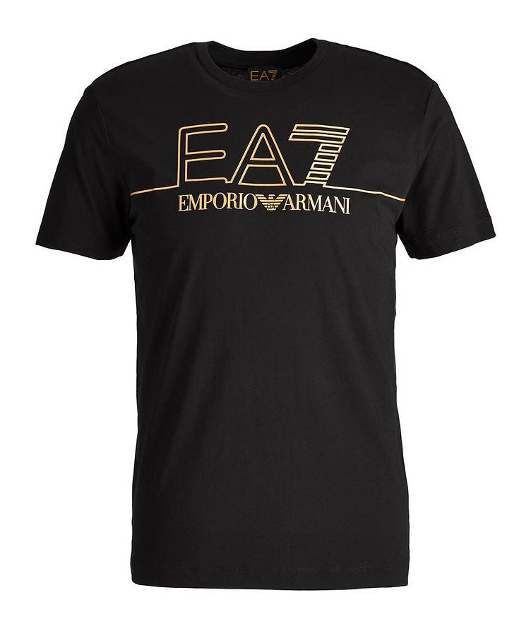 EA7 Logo Cotton T-Shirt image 0