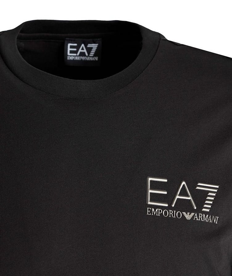T-shirt en coton avec logo, collection EA7 image 1