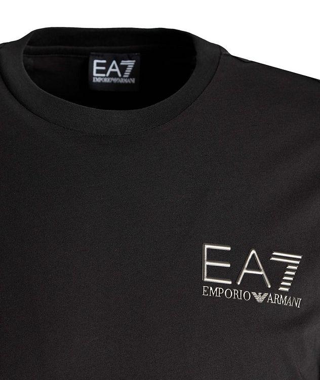 T-shirt en coton avec logo, collection EA7 picture 2