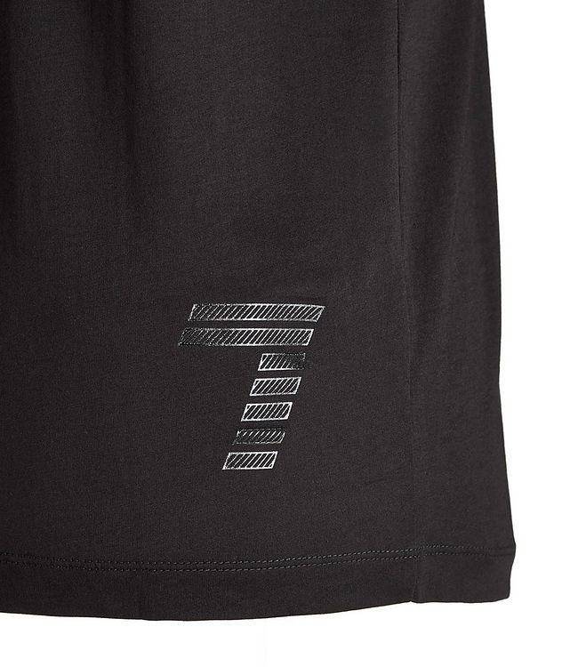 T-shirt en coton avec logo, collection EA7 picture 3