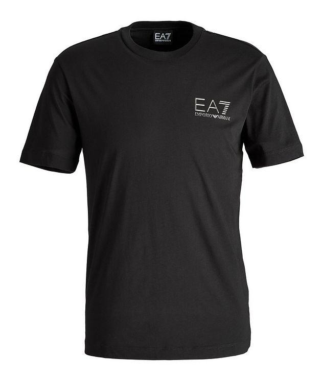 T-shirt en coton avec logo, collection EA7 picture 1