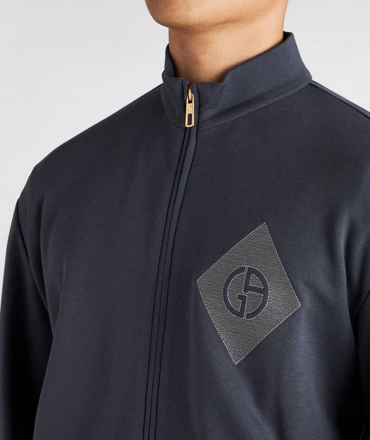 Cotton, Cashmere, and Silk Blouson Jacket image 3