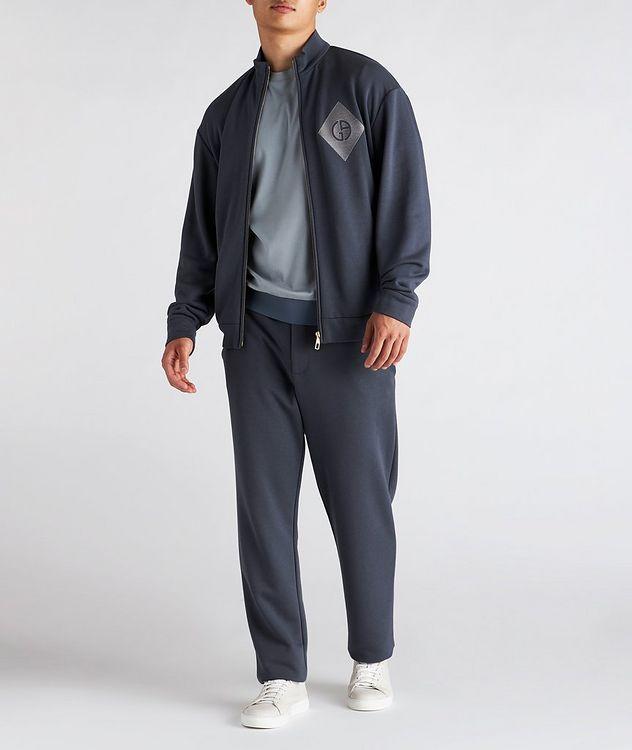 Cotton, Cashmere, and Silk Blouson Jacket picture 5