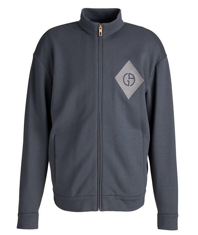 Cotton, Cashmere, and Silk Blouson Jacket image 0