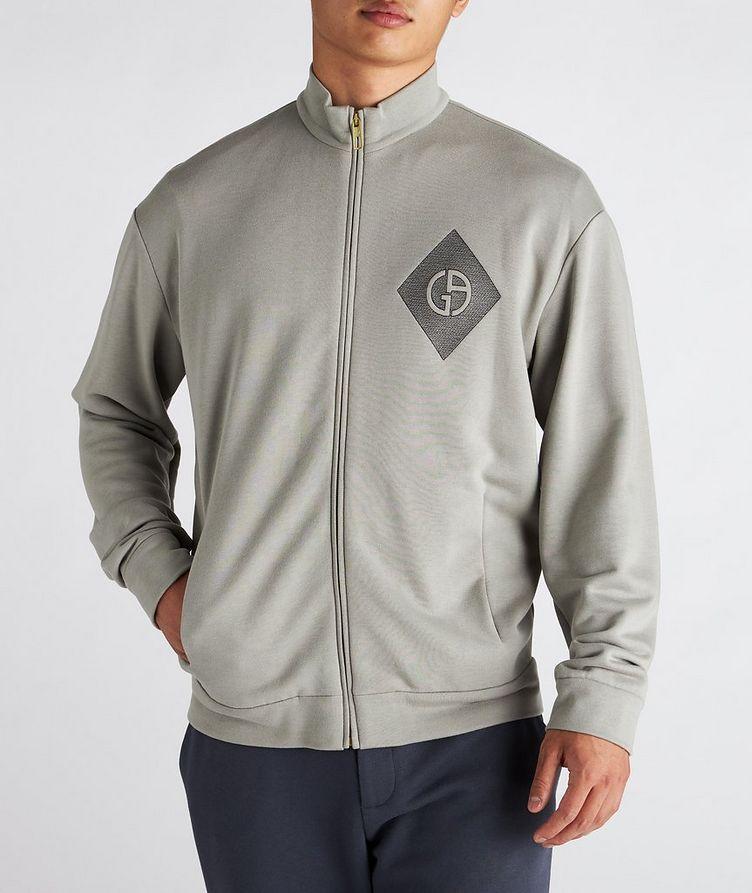 Cotton, Cashmere, and Silk Blouson Jacket image 1