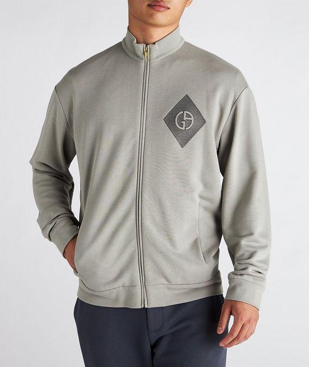 Cotton, Cashmere, and Silk Blouson Jacket picture 2