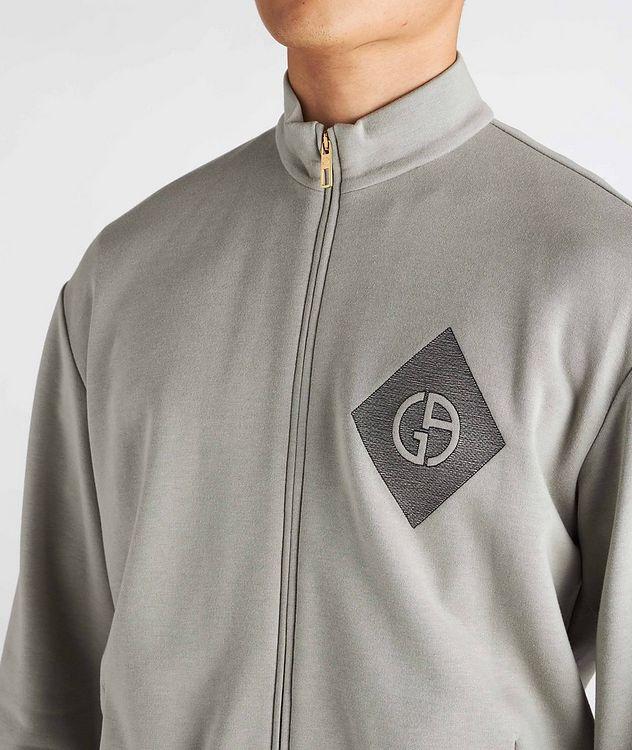 Cotton, Cashmere, and Silk Blouson Jacket picture 4