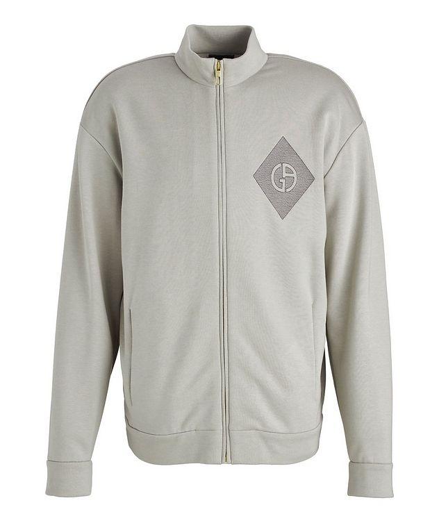 Cotton, Cashmere, and Silk Blouson Jacket picture 1