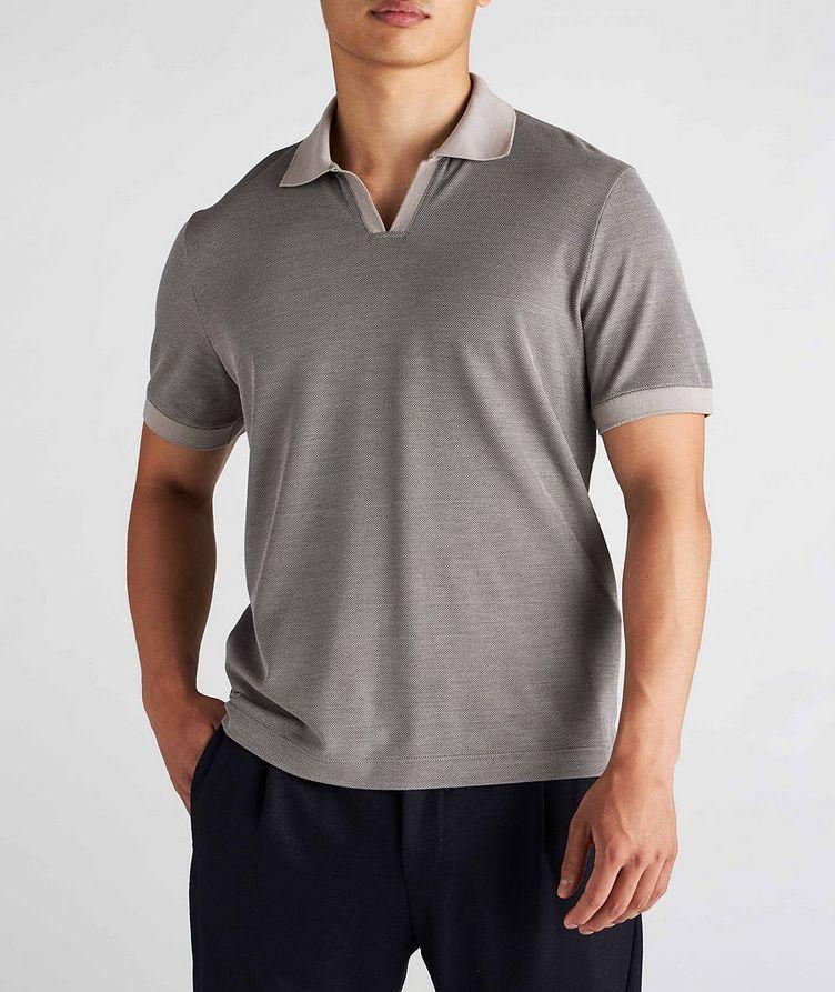 Cotton-Silk Polo  image 1