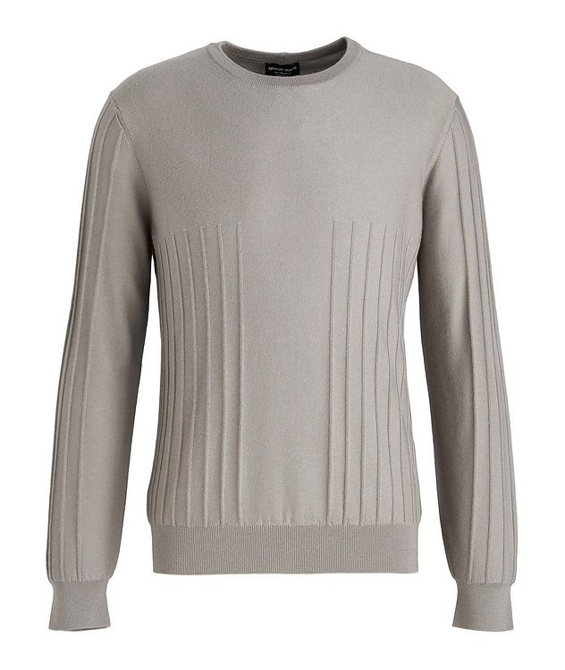 Raised Motif Cashmere Sweater picture 1