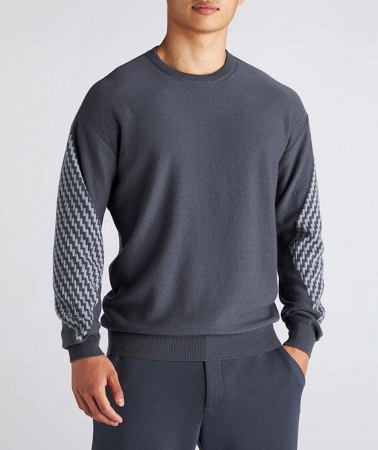 Geometric Cashmere Sweater image 1