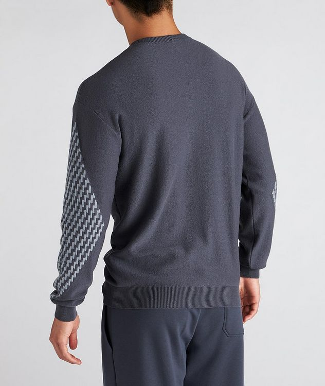 Geometric Cashmere Sweater picture 3