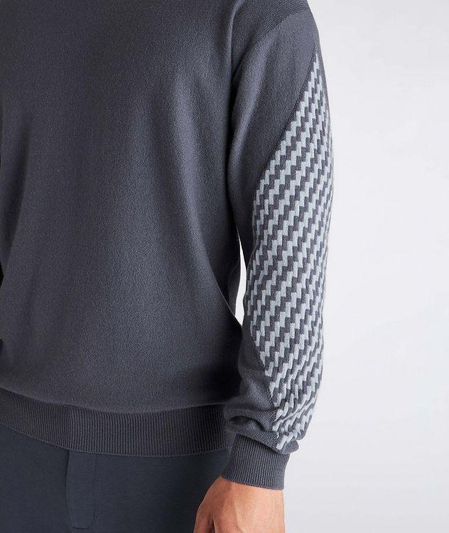 Geometric Cashmere Sweater picture 4