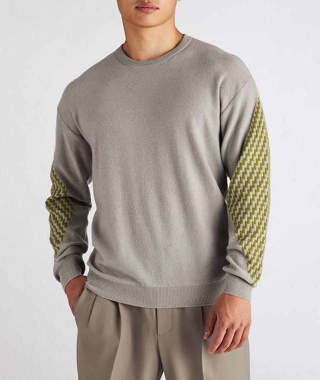 Geometric Cashmere Sweater picture 2