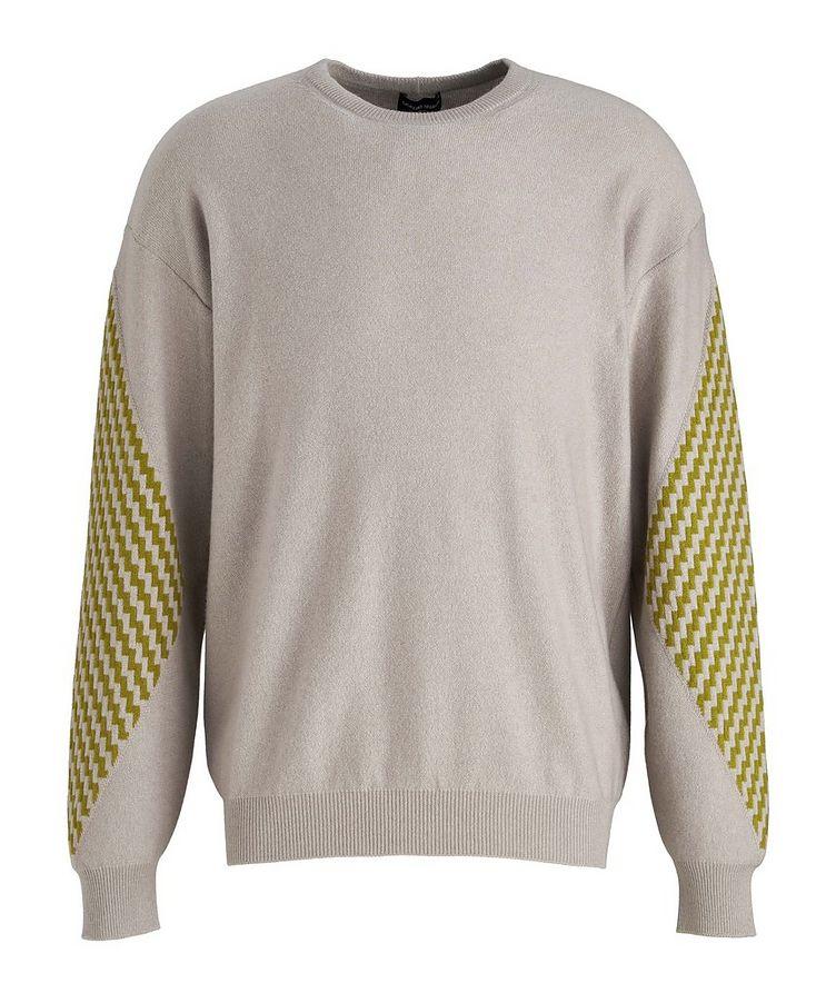 Geometric Cashmere Sweater image 0