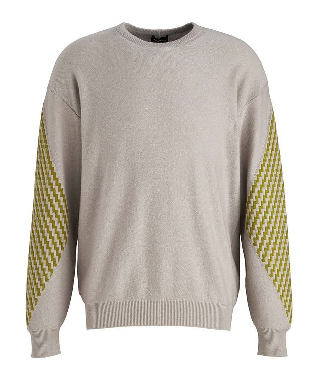 Geometric Cashmere Sweater picture 1