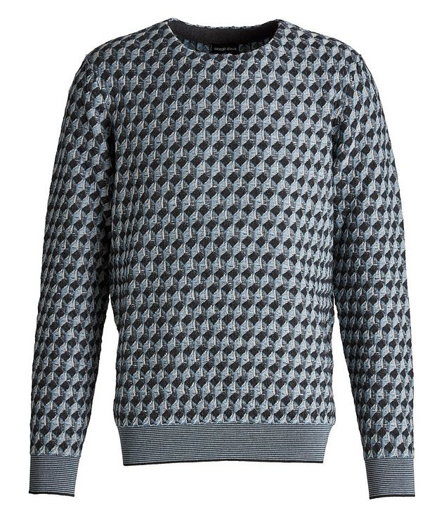 Jacquard Wool Sweater picture 1