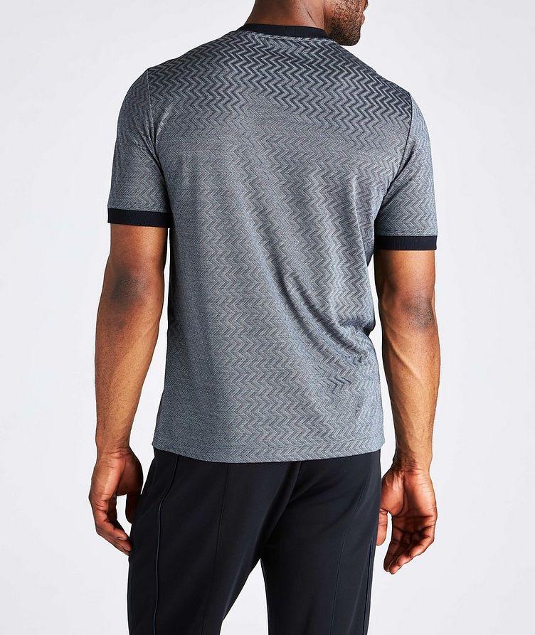 Zig-Zag Cotton-Silk T-Shirt image 2