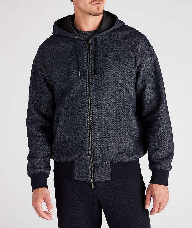 Zip-Up Cotton-Wool Hoodie image 1