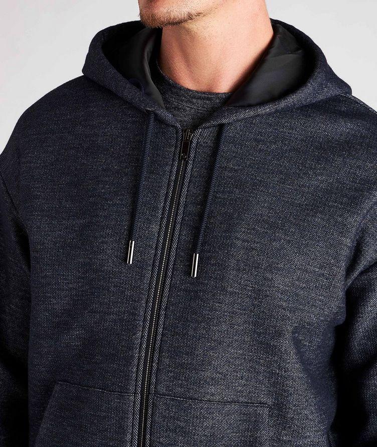 Zip-Up Cotton-Wool Hoodie image 3