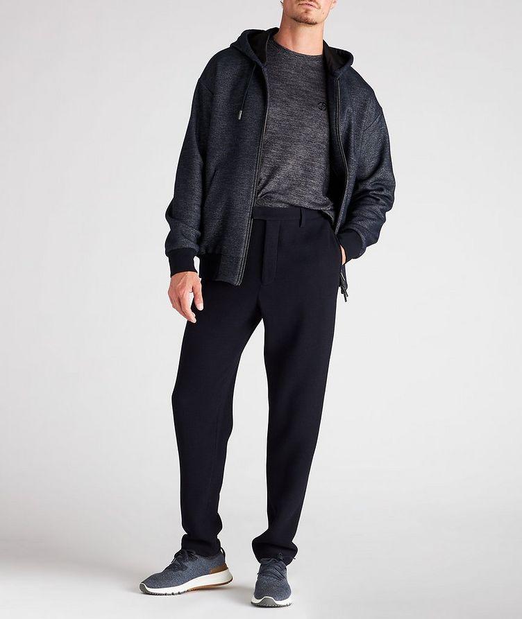 Zip-Up Cotton-Wool Hoodie image 4